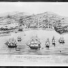 Drawing of San Francisco, 1846, Southern California, 1931