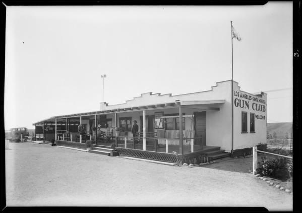 Los Angeles and Santa Monica gun club, Santa Monica, CA, 1931
