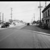 Intersection at East Washington Boulevard and Griffith Avenue, Los Angeles, CA, 1931