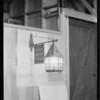 Lamp for composite, Green Lantern Soda Fountains, Southern California, 1929