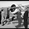 Prest-O-Lite plane at United Airport [Bob Hope Airport], Burbank, CA, 1931