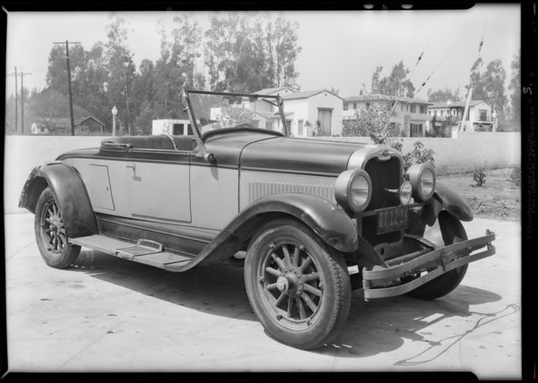 Assured, J.M. Gaylord vs. Mrs. Maple, Southern California, 1931