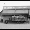 Haddad Brothers truck, Southern California, 1931