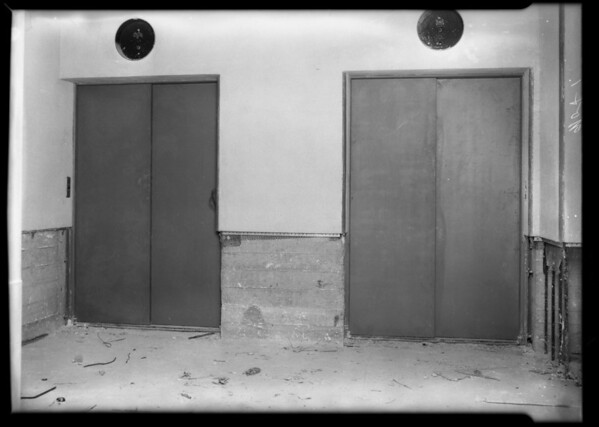 County Hospital, Metal Door & Trim, Los Angeles, CA, 1931