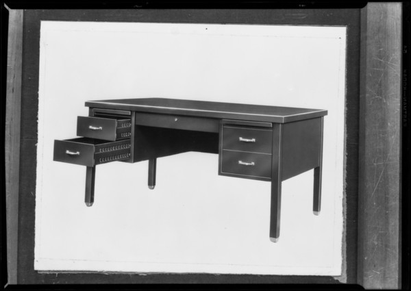 Desk, Steel Furniture Manufacturing Co., Southern California, 1930