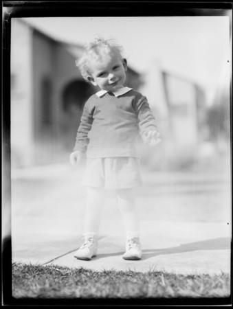 Paul, Southern California, 1931