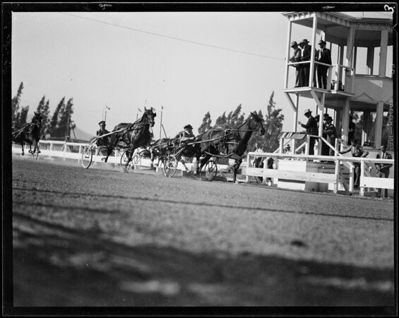 Booths and field shots, Southern California Fair, Southern California, 1929