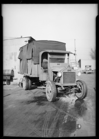 Daley's Co. truck, Southern California, 1931