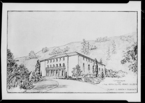Drawings, Immaculate Heart College, Southern California, 1929