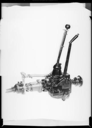 Free wheeling device, Southern California, 1931