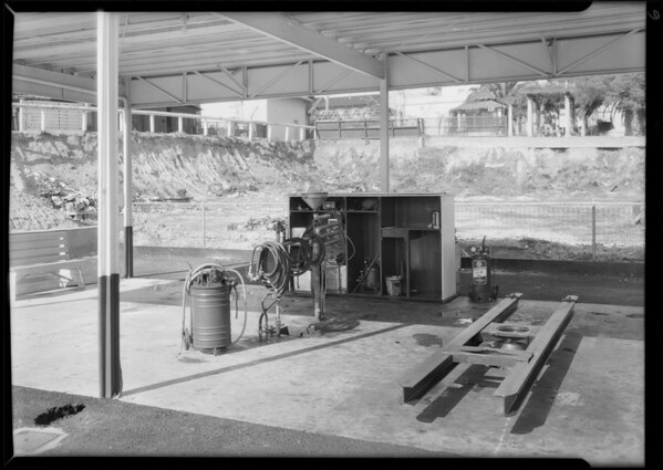 Placement of signs in stations etc., Southern California, 1930