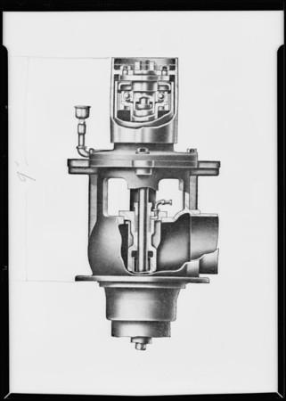 Cut away half tone, Pomona Pump, Southern California, 1931