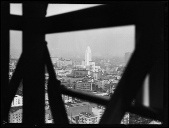 Views from top of tower, Southern California, 1930