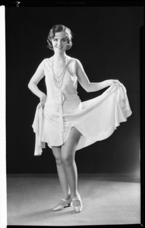 Marion - of Clifford & Marion - funny legs, Southern California, 1931