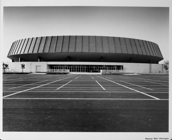 Los Angeles Memorial Sports Arena, exterior view
