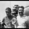 Landing of endurance ship at Culver City Airport, Culver City, CA, 1929