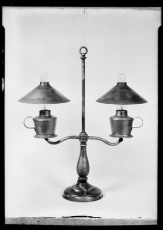 Lamps, Parmenter Manufacturing Co., Southern California, 1931