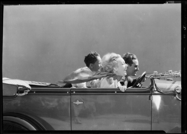 Speed in Ford, Southern California, 1931