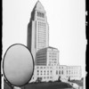 Copy of City Hall & egg, Los Angeles, CA, 1929