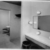 Los Angeles Memorial Sports Arena, interior view, restroom