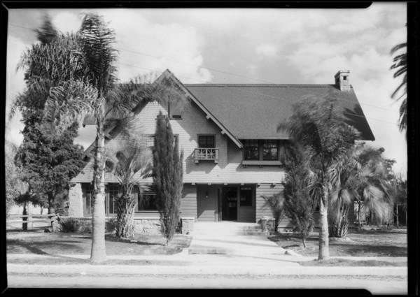 2700 Budlong Avenue, Los Angeles, CA, 1930