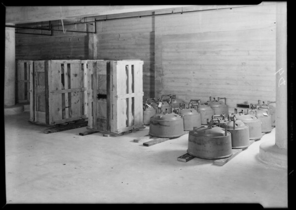 County Hospital installations, Los Angeles, CA, 1931