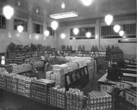 Inside of a grocery