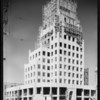 Wilson building and Barcelonian tile display at arts crafts building, La Brea Avenue, Los Angeles, CA, 1930
