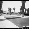 Intersection, Ramona Avenue and Oak Street, San Marino, CA, 1931