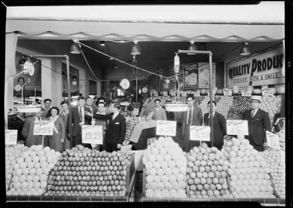 Market at 8670 Wilshire Boulevard, Beverly Hills, CA, 1931