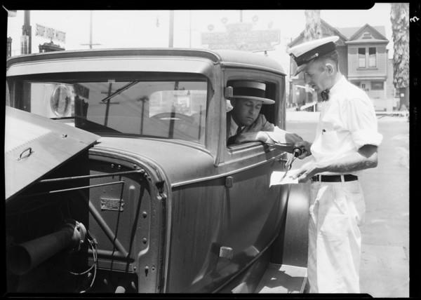 Goodyear Motor Tires Inc., East 9th Street, Southern California, 1931