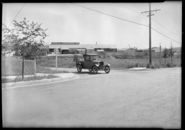 Intersection, Concord Avenue and Westminster Avenue, Alhambra, CA, 1931
