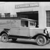 California Baking Co. truck, Southern California, 1929