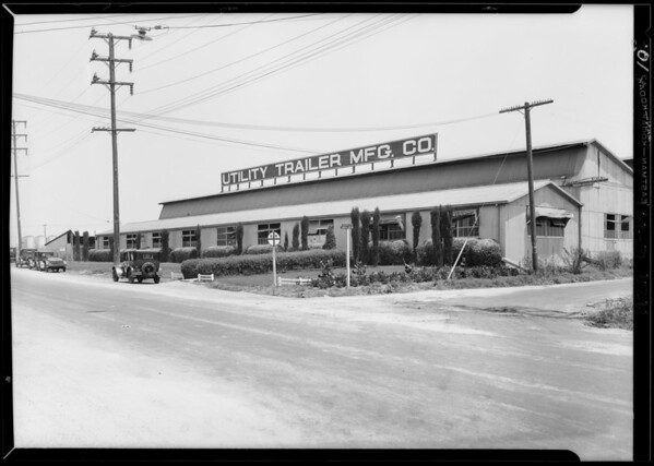 City Terrace industries, Southern California, 1929
