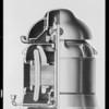Drawing of motor, U.S. Motors, Southern California, 1931