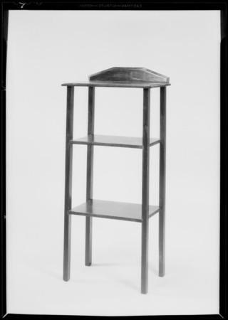 Cheap furniture, R&M Cabinet & Furniture Manufacturing Co., Southern California, 1931