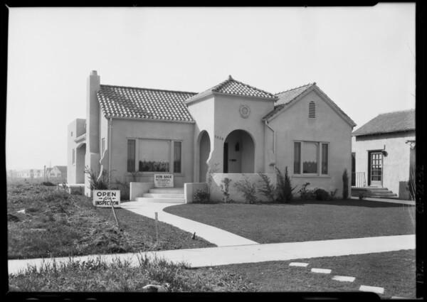 6530 Eulalia Boulevard [San Vicente Boulevard], Carthay Center, Los Angeles, CA, 1926