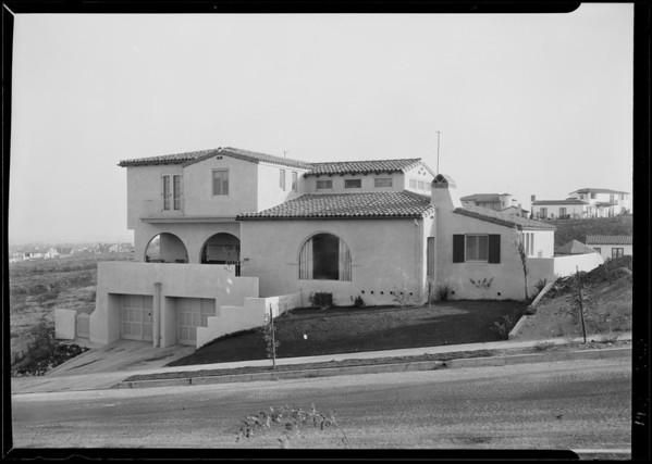 3620 Homeway Drive, Los Angeles, CA, 1929