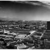 Aerial view of Union Station, Los Angeles Warehouse Company, Sun-Tent Equipment Company