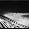 Night racing at Ascot Park, Gardena, CA, 1929