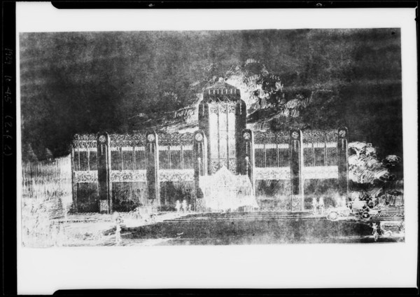 C. C. C. Tatum building, Southern California, 1929