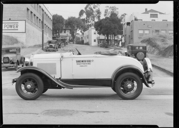 New Ford Roadster, Southern California, 1931