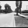 Intersection, Ramona Avenue and Oak Street, San Marino, CA, 1931