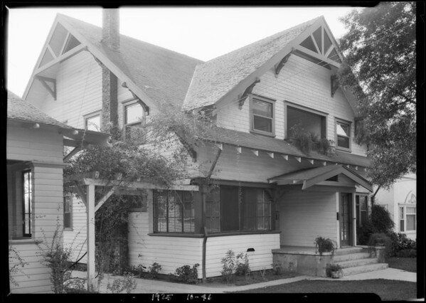 4616 Franklin Avenue, Los Angeles, CA, 1925