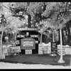 Booth at California land show, Lido Isle, Southern California, 1930
