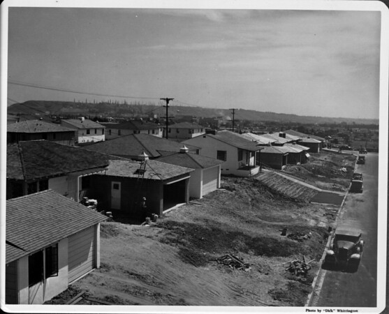 Residential area under construction