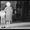 Louise & Edward, back to camera, Southern California, 1929
