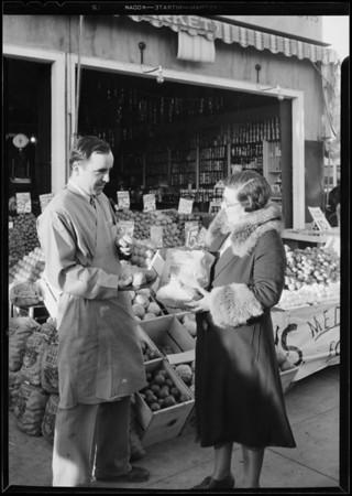 Market at 9715 Washington Boulevard, Culver City, CA, 1931