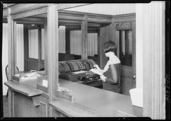 Colonial Clothing Co., 5500 Pasadena Avenue, Southern California, 1929