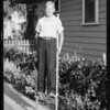 Darwin on stilts, Southern California, 1929